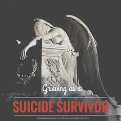 TRIGGER WARNING: The next two posts will discuss the personal journey of a dear friend through loss and grieving as a suicide survivor. NOTE FROM LISA: In my journey through grieving and ministerin...