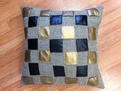 A personal favorite from my Etsy shop https://www.etsy.com/listing/269173121/20x20with-pillow-insert-hand-made-gold