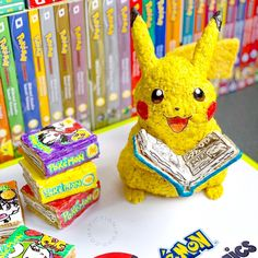 Today is International Edible Book Day! Started in the Edible Book Festival is often celebrated throughout March and Apri. Rice Krispie Treats, Rice Krispies, Colored Tape, Parenting Win, Pokemon Manga, Yellow Foods, Book Festival, Edible Food, Mini Marshmallows