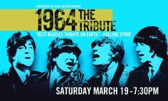 TODAY only! Use code BEATLE for a 20% discount on 1964 The Tribute coming to the #FiveFlagsArena Saturday March 19th #Dubuque #Iowa #Madison #CedarRapids #IowaCity #rockford