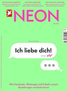 Die neue Ausgabe von NEON - ab Montag im Handel! http://blog.neon.de/2014/04/neon-052014/