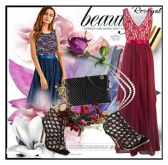 """""""Show us how you style maxi dress - Contest"""" by ramiza-rotic ❤ liked on Polyvore featuring Polaroid"""