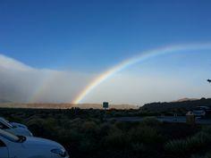 Regenbogen am El Teide / Teneriffa