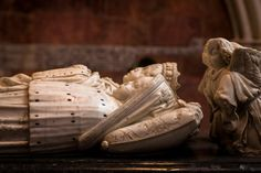 Tomb of the Children of France, 1506. Tours Cathedral. Made for Charles Orlando, Dauphin of France, son of Charles Vlll of France and Anne of Brittany, and an unnamed brother // photo by Penelope Fewster