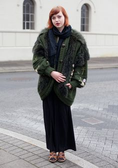 Icelandic cool fashion ...Nanna