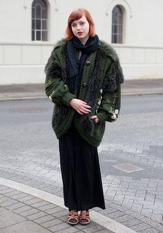 Icelandic cool fashion ...Nanna