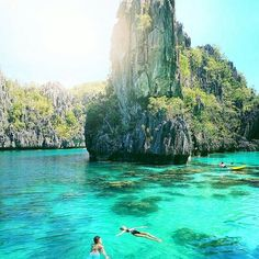 El Nido is a first class municipality and managed resource protected area in the province of Palawan in the Philippines. . . It is known for it's white sand beaches, coral reefs, limestone cliffs, and a gateway to Bacuit Archipelago. It is rated at the to