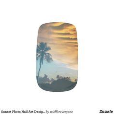 Sunset Photo Nail Art Designs Minx® Nail Art