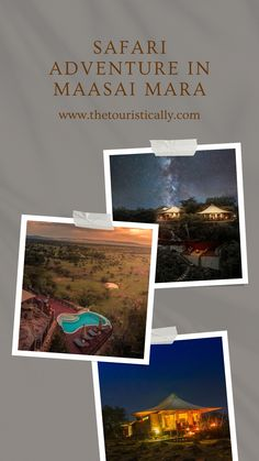 Everything you need to know about accommodation in Maasai Mara