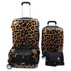 4 Piece Metropolitan Luggage Set