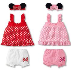 3pcs Girl Baby Infant Headband+Top+Pants Bloomers T-Shirt Outfit Clothes 0-18M #Unbranded #DressyEverydayHoliday