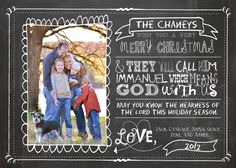Personalized Photo Christmas Cards Joy to the by TheMeekBoutique