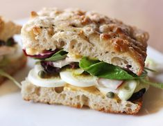 Scuttlebutt Sandwich with Pickled Beets and Hard-Boiled Egg. #PerfectPicnicContest