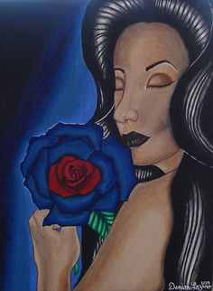 Check out this item in my Etsy shop https://www.etsy.com/listing/521447871/original-acrylic-painting-on-canvas-blue