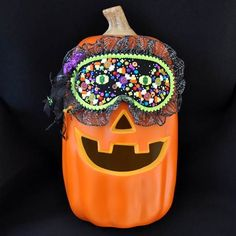 AT Halloween mask stitched by Ebbie