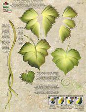 dewberry rtg | Grape Leaves & Ivy RTG Worksheet by Donna Dewberry