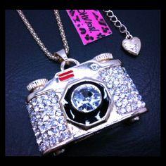 Selling this Betsey Johnson Swarovski Crystal Pendant Necklace on Poshmark! My username is: cmccullough9. #shopmycloset #poshmark #fashion #shopping #style #forsale #Betsey Johnson #Jewelry