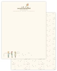 pattern: love the bubbles and the fact that they relate back to the illustration.