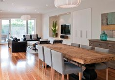 spotted gum wood flooring with wood furniture - Google Search
