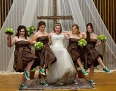 my girls are guna kill me but im kinda falling in love with this idea of convese shoes for the wedding...