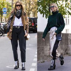 3ad18465303 14 buoni motivi per indossare un paio di stivaletti neri con ogni look della  settimana