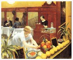 Edward Hopper - Tables for Ladies (1930)
