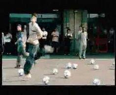 Adidas Soccer Commercial - Beckham, Zidane, Del Piero & Kluivert