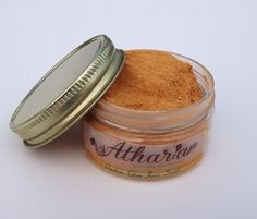 Indian Glow Face Scrub Ubtan Cleanser Natural Exoliator - known as the natural alternative to microdermabrasion and used for centuries in ayurveda beauty traditions, made with turmeric, sandalwood, neem and other skin healing properties! Www.atharapure.com #naturalfacescrub
