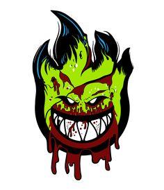 Resultado de imagen para skate zombie wallpaper