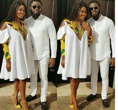 Modern African Print Dresses, Short Ankara Dresses, African Traditional Dresses, Couples African Outfits, African Attire, African Dress, African Lace, African Fashion Ankara, African Print Fashion