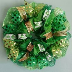 Saint Patrick's Day Wreath St. Patrick's Wreath by WreathsByRobyn