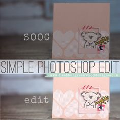 Heather Greenwood aka Scrap Happy Hippie: 3 Step Tutorial For A Simple Clean Edit In Adobe Photoshop