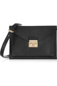 Mulberry Kensal double-faced leather shoulder bag | NET-A-PORTER