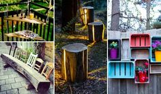 27 DIY Reclaimed Wood Projects for your Homes Outdoor