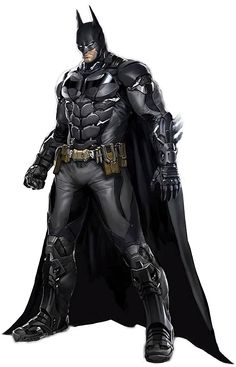 Batman Arkham Knight. Even with a little smile on his face, love the detail and his beautiful smile