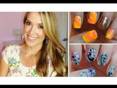This girl seriously has the BEST nail art tutorials! I love how she organizes the videos. She has a series for nail art beginners and in this video she shows two nail art techniques with a straw! Just please make sure you are using cruelty-free brands ( that don't test on animals) :) check here: leapingbunny.or and gocrueltyfree.org