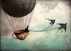 18-Around-the-world-Christian-Schloevery-Surreal-Paintings-Balance-of-Mind-and-Heart-www-designstack-co