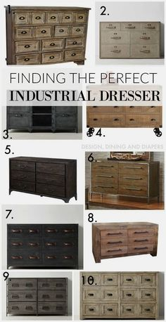 So we've been on a hunt for a new dresser in our master bedroom and it's taking me awhile to pull the trigger on anything. So here is my dilemma, we had a temporary dresser in there that totally…