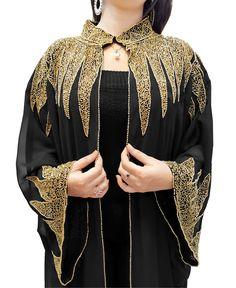 Abaya Fashion, Muslim Fashion, Fashion Outfits, Pakistani Dress Design, Pakistani Dresses, Bridal Cover Up, Mode Abaya, Rhinestone Dress, Everyday Dresses