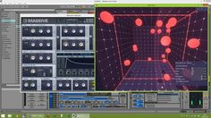 """In this video I demonstrate an application of the """"Bounce"""" instrument in our Leap Motion software, Tekh Tonic. It is controlling note generation in our Max For Live OSC patching system, Tekh Map, triggering notes in MASSIVE. Both of these tools were in alpha stage for this video.  Tekh Tonic is a platform for using the Leap as an OSC/MIDI controller. It contains a number of """"instruments"""" which allows the user to interact with 3D environments that output a number of ..."""