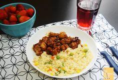 Orange Chicken.  www.apequenacozinha.com
