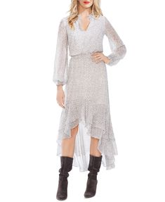 1.STATE X Jaime Shrayber Printed High-Low Dress & Reviews - Dresses - Women - Macy's Country Girls Outfits, Girl Outfits, Giddy Up Glamour, Animal Print Dresses, Review Dresses, Nordstrom Dresses, Chiffon Dress, Dresses Online, New Dress