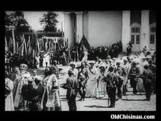Царь Николай II в Кишинёве, 1914 год. - YouTube