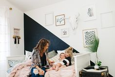 """When we moved into our new home last August I was 8 months pregnant with  Levi and exhausted. The last thing I could think about what decorating a  house, but I knew that making a special space for Elle was a priority.  After all, she was going through just as many big changes as we were and  trying to comprehend it all at the age of 3. She would talk about her """"old  house"""" and sometimes cry saying how much she missed her polkadots (I would  start crying too). Her old room had rose gold…"""