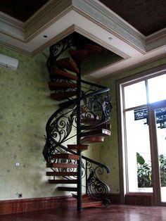 Stunning spiral stair case