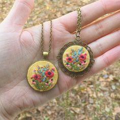 Loving these new poppy pendants! Check out the shop to see all of the new designs!