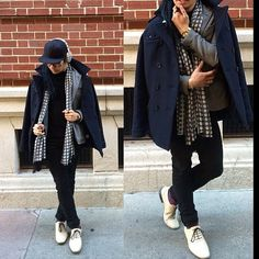 This #FanFriday goes to this SUPREME #ootd by @Rap Sarmiento ft. our #WilliamRast peacoat #fashion #style #swag
