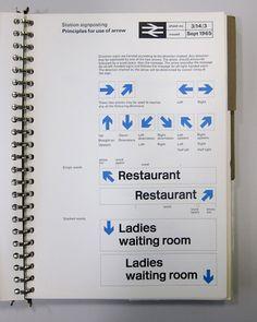 British Rail Corporate Identity Manuals