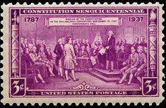 US Stamps 1937 Scott # 798