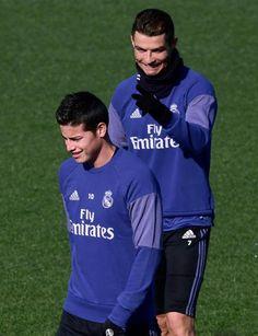 Cristiano y James